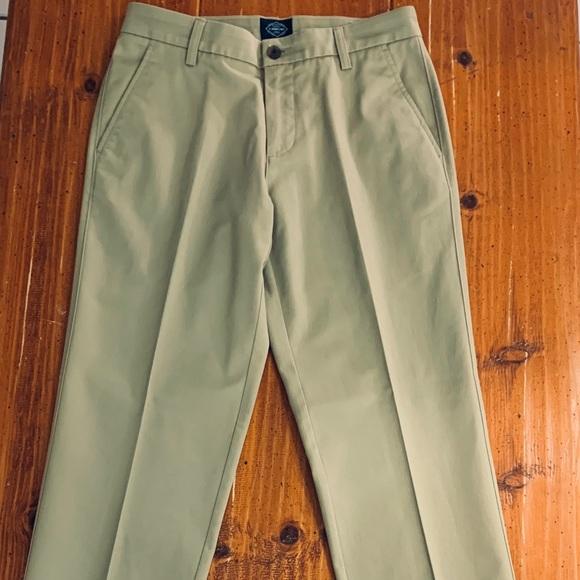 Men/'s St John/'s Bay Pants Classic Fit Khaki Navy Black 30 32 34 36 38 40 42 New
